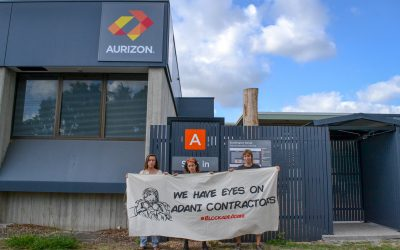 20 people stop work at office of Aurizon