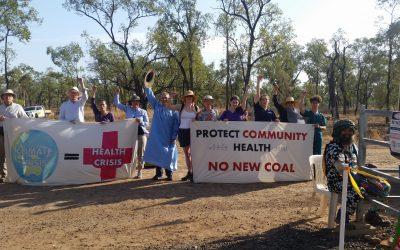 Doctors, nurses, health professionals stop work on Adani mine