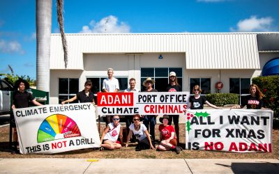 Climate Activists Unveil Adani's Secret Bowen Office