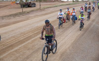 Cycling for country on the Tour de Carmichael