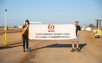 Activists stop work on Adani's rail line to send a message to investors